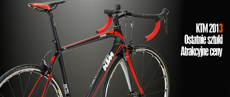 Rowery KTM 2013 – wyprzedaż kolekcji